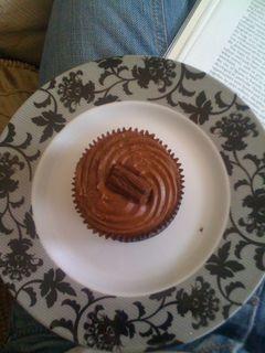 choccy cupcake