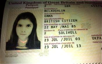 Passport old